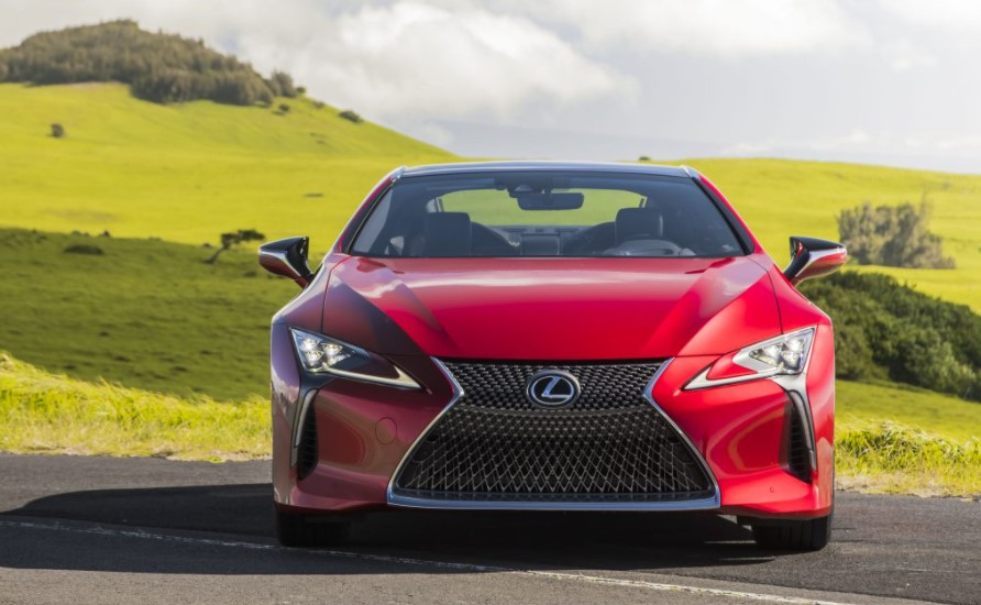 2022 Lexus LC 500 Coupe Safety Change