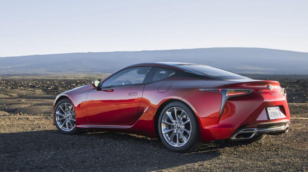 2022 Lexus LC 500 Coupe Specification