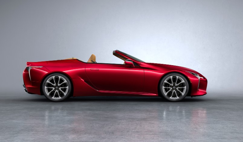 2022 Lexus LC Convertible Change