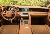 2022 Lexus LC Convertible Interior