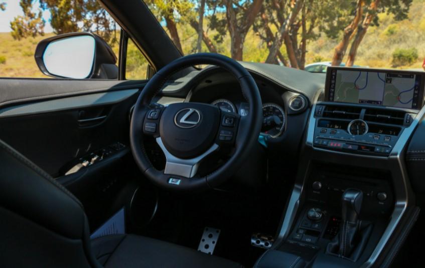 2022 Lexus NX 300 F Interior Redesign